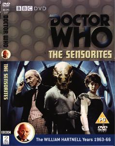 Region 2 DVD cover for The Sensorites