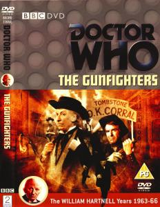 Region 2 DVD cover for The Gunfighters