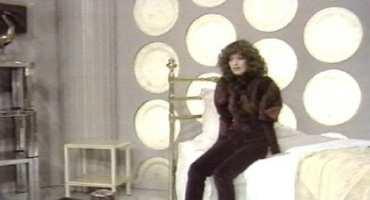 The interior of a TARDIS